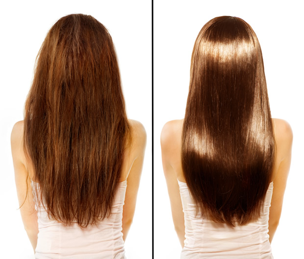 Castor Oil for Hair Before and After Photo